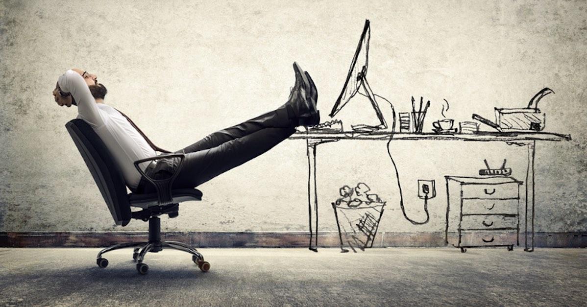 Medidationsübungen in der Pause können helfen.