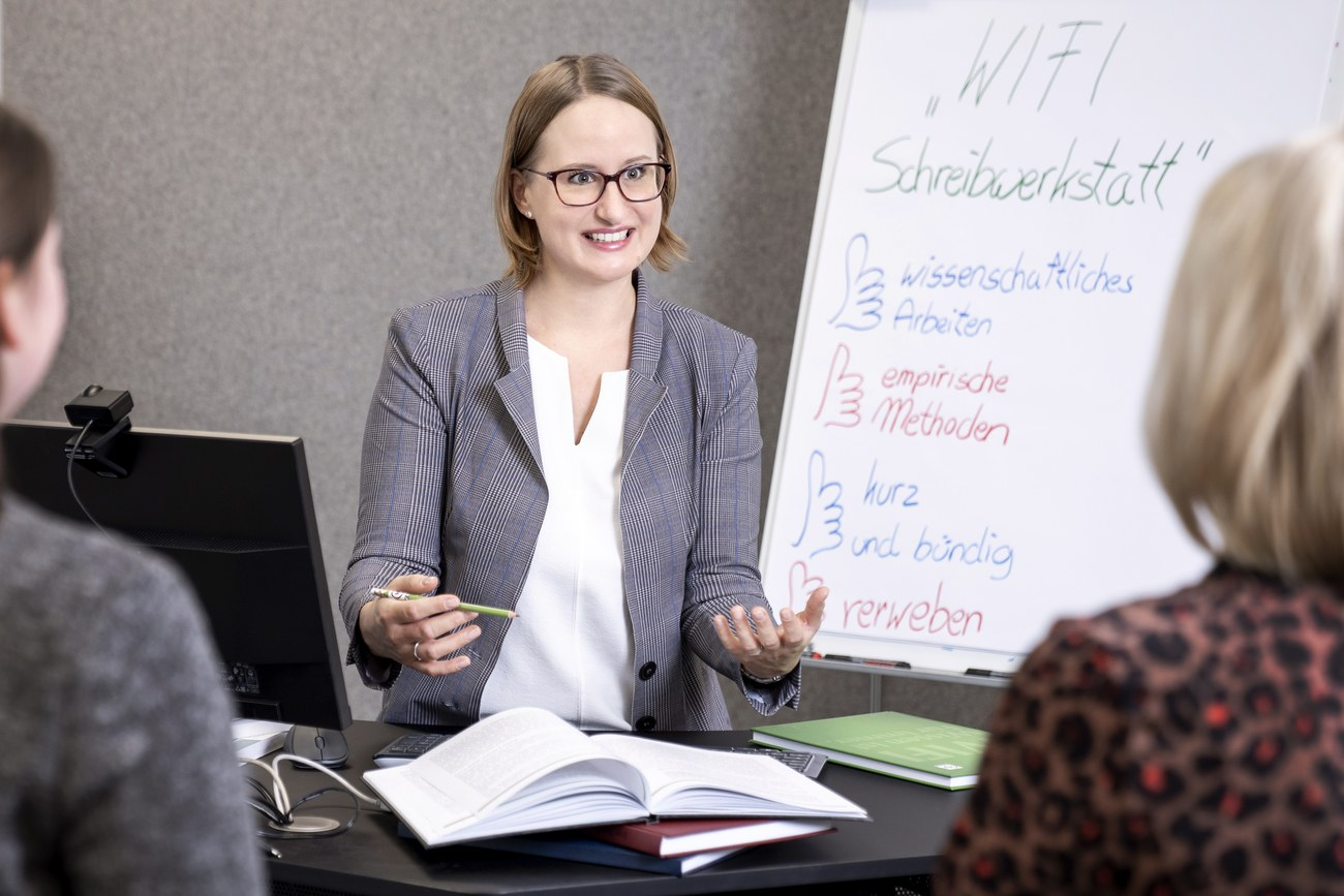 WIFI Steiermark Schreibwerkstatt
