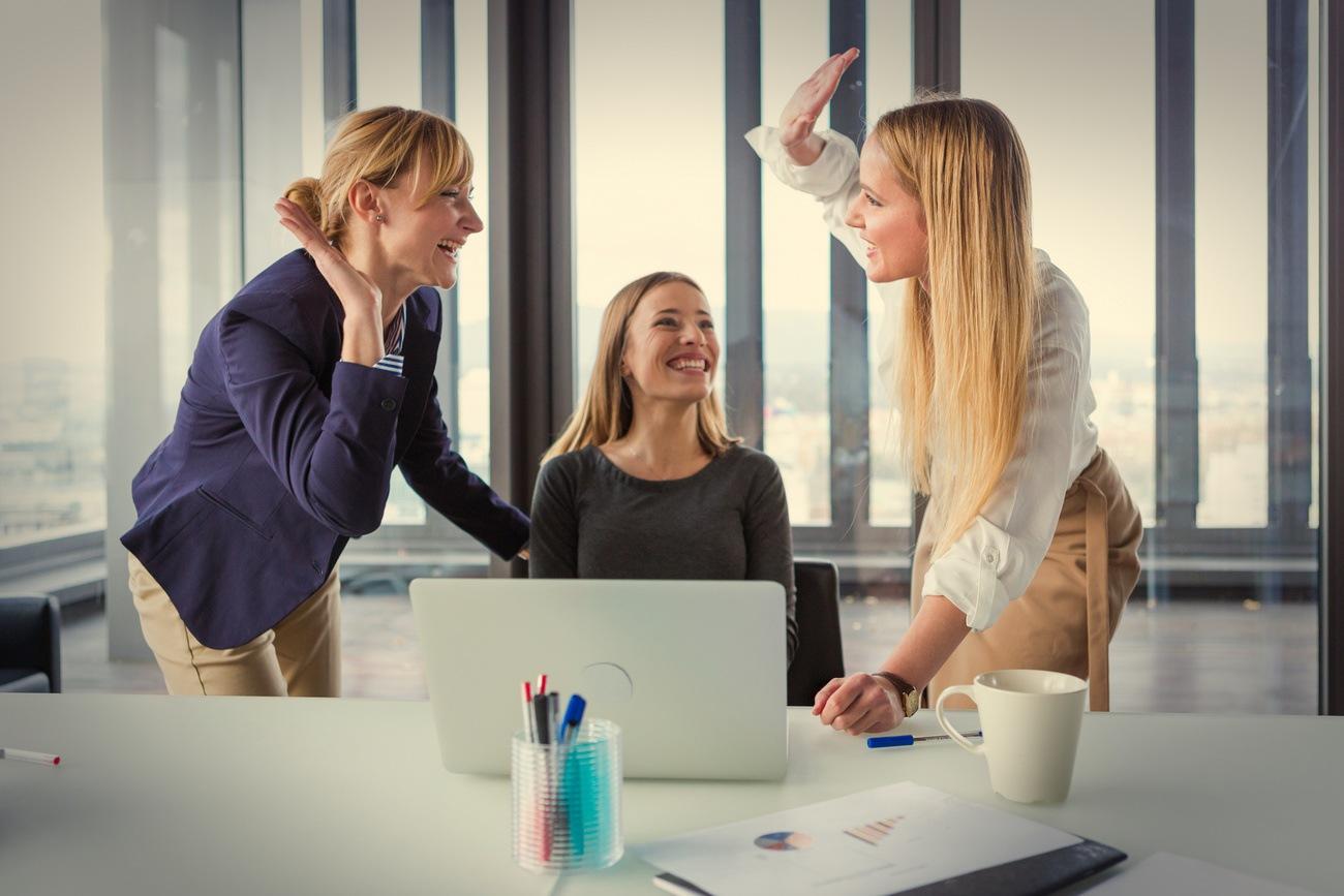 Zusammenarbeit stärkt die Freude an einem Projekt